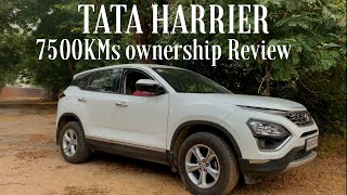 Tata Harrier Xz - Owners Review After 7500 KMS