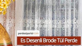 2018 Tül Perde Modelleri   PerdeSiparisi.com  