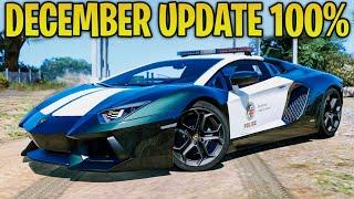 Gta Online - December Update 100 Happening Police Variants Of Existing Cars  More Gta Qandampa