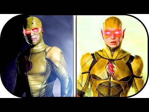 EVOLUTION of Reverse Flash in Movies, Cartoons, TV (1990-2018) professor zoom history justice league