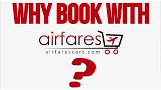 Why book with Airfares Cart