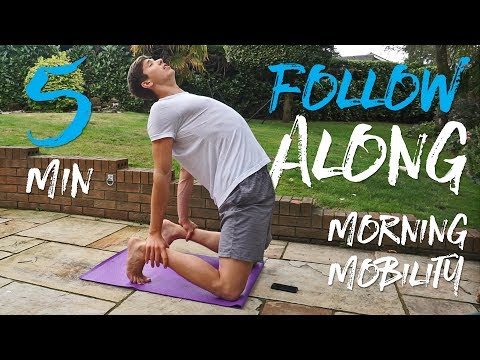 5 Minute Morning Mobility Routine (FOLLOW ALONG)
