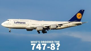 Who's Ordered the Boeing 747-8?