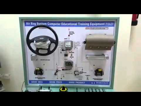 Air Bag System Computer Educational Training Equipment, future technology trading riyadh