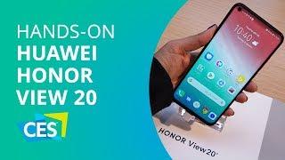 """Hands-on: Honor V20 com """"buraco"""" no display e câmera de 48 MP [CES 2019]"""