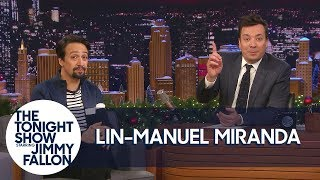 Jimmy Announces Tonight Show Heading to Puerto Rico with Lin-Manuel Miranda