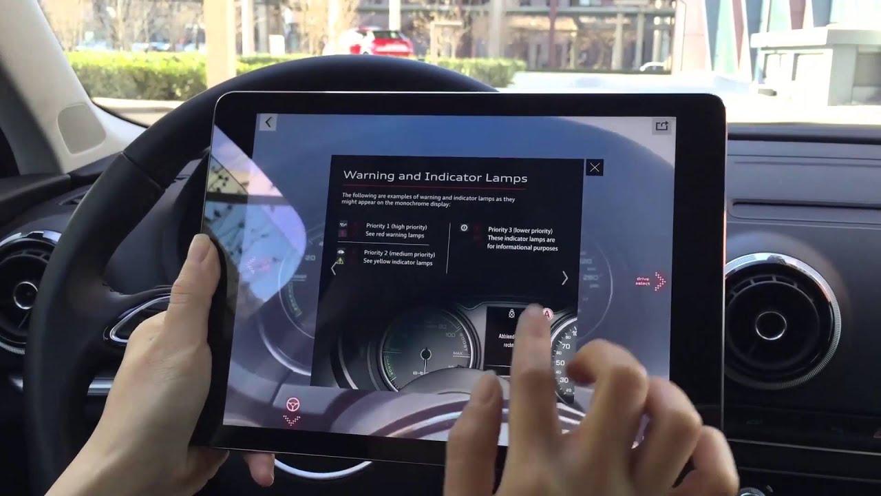 Interactive Ar Car Teacher Audi A3 E Tron Youtube
