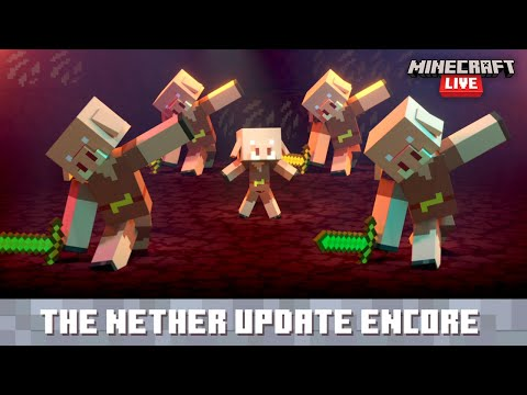 Minecraft Live: The Nether Update Encore