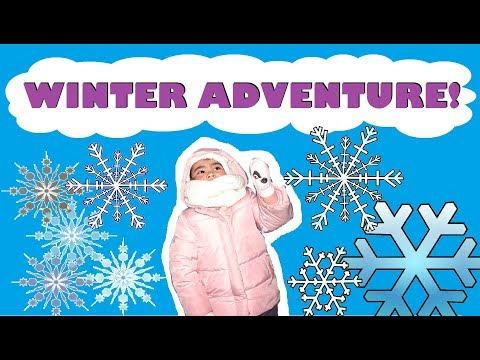 Winter Adventure with Akeesha! - Ice Castles at The Forks, Winnipeg