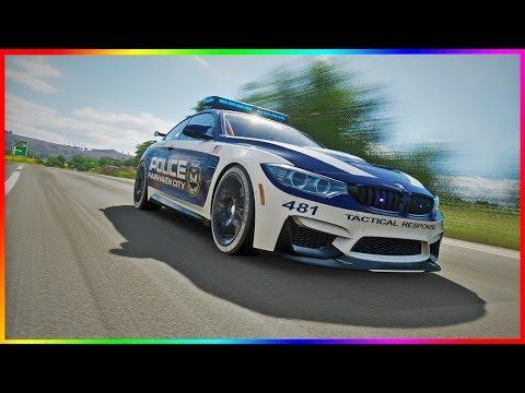 BMW M4 GTS jako POLICJANT! | FORZA HORIZON 4