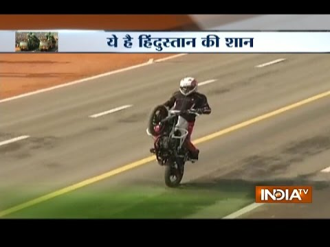 Watch Full dress rehearsal of Republic Day parade in Delhi