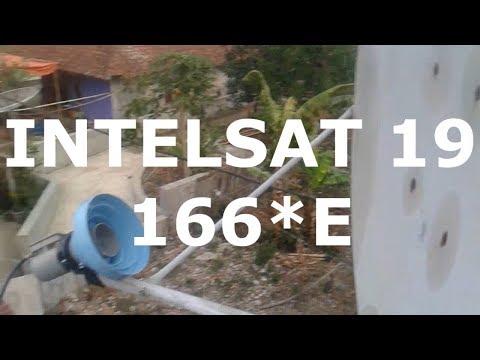 Tracking Intelsat 19 C band dengan dish (telvis) request komentator by #verdi vengeance