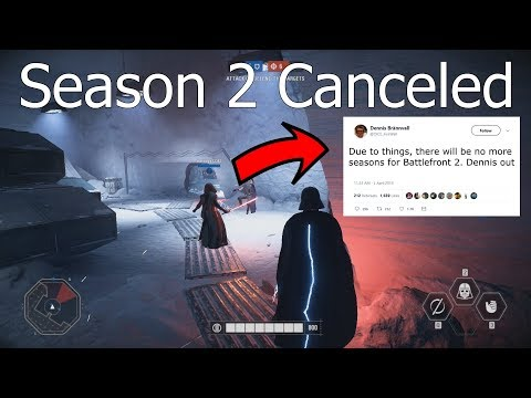 """SEASON 2 OFFICIALLY CANCELED """"No more content coming"""" - Star Wars Battlefront 2 News thumbnail"""