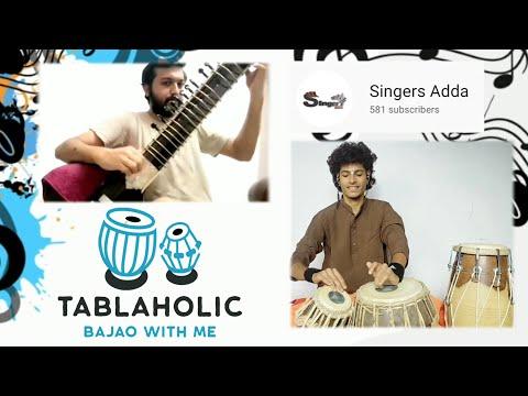 Raag Hemant | Sitar With Tabla COVER | ft. Singersadda | Tablaholic Kartik