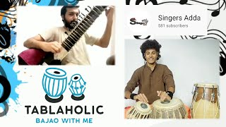 Raag Hemant | Sitar With Tabla COVER | ft. Singersadda | Tabla…