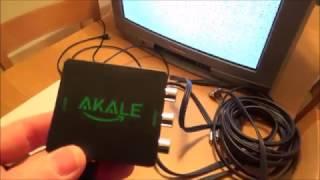 Bir Xbox bağlanan KOMPOZİT AV ile Eski CRT Televizyon için S