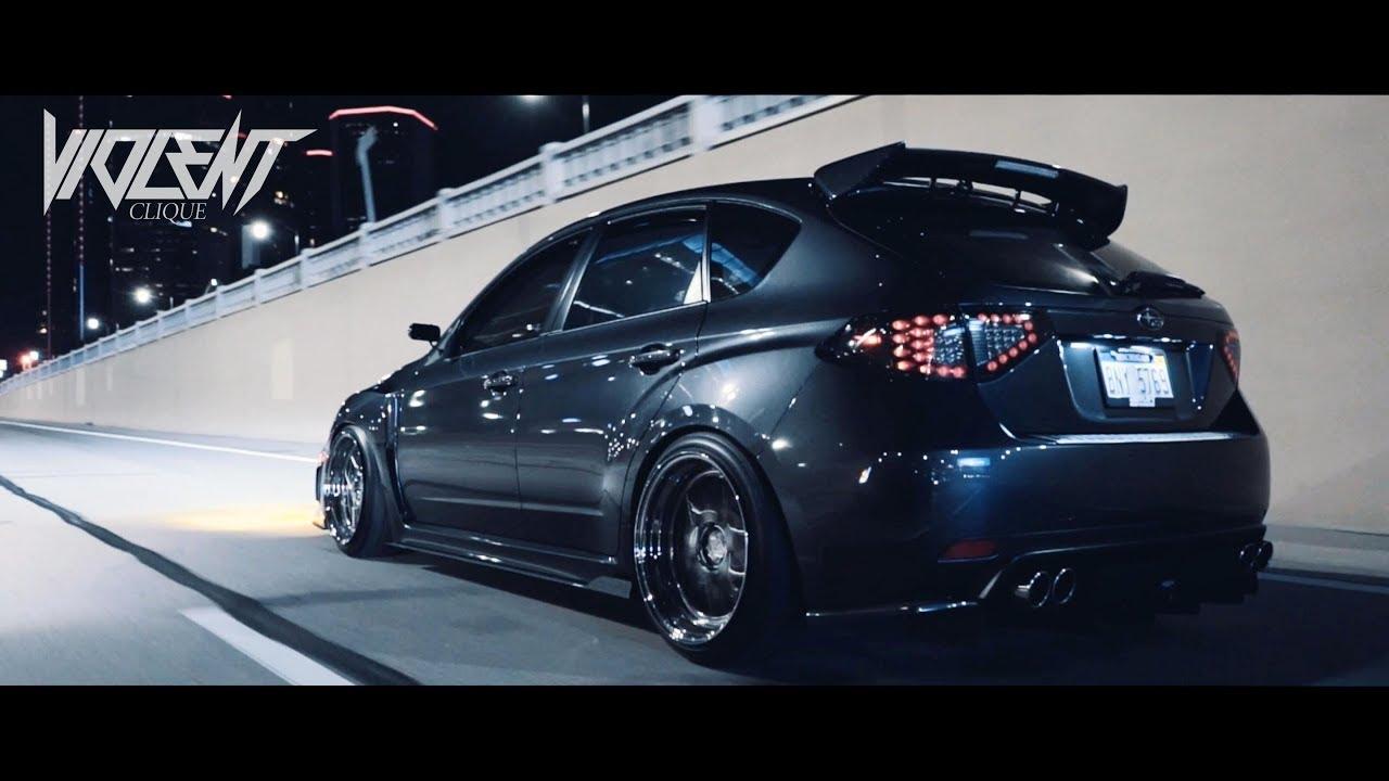 Bagged WRX on Detroit Streets - VIOLENT CLIQUE - YouTube