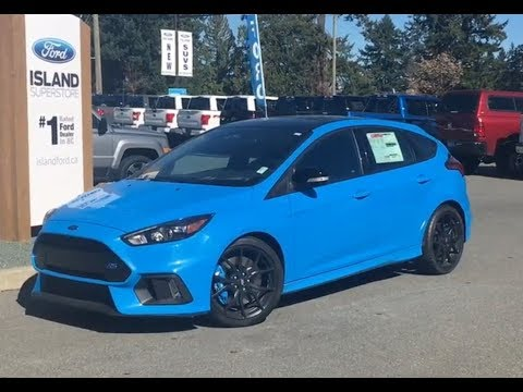 2018 Ford Focus RS AWD Review| Island Ford