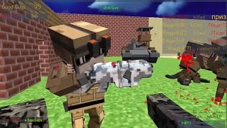 PIXEL GUN APOCALYPSE 2  BAD ZM 5 WALKTHROUGH