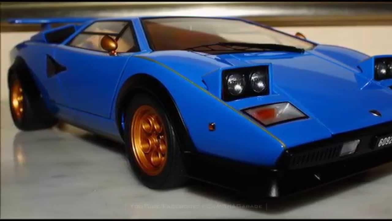 Lamborghini Countach Walter Wolf Edition Fcaminhagarage