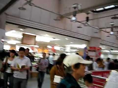 BIG  Bookstore in China..... Xidan Bookstore Beijing