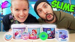 NEUE XXL SCHLEIM SAMMLUNG VON KAAN & KATHI! Frozen, Spiderman, Arielle Slime! Glitzer UNICORN POOP
