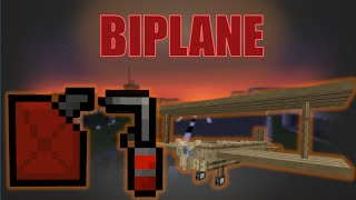 Flan's Mod [4.10] How To Build, Use And Repair A Biplane! [HD]