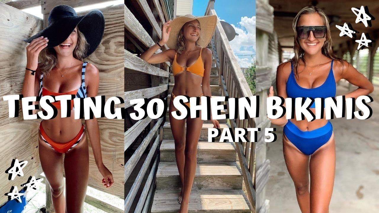HUGE SHEIN BIKINI TRY ON HAUL // I bought 30 swimsuits under $15