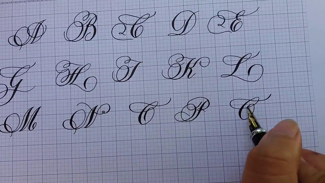 Cách viết chữ đẹp –  Bảng Chữ Hoa Sáng Tạo