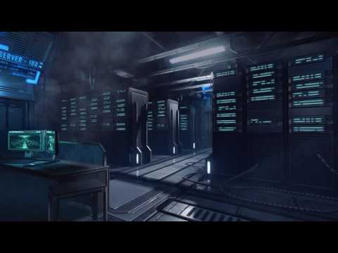 Spaceship Bedroom Ambience – Relaxing in the Sleeping Quarters (White Noise