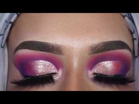 64a6e14783f Rose Gold Smokey Eye Makeup Tutorial Finished With Dollbaby London Super  Long & Wispy 'Siren' Lashes