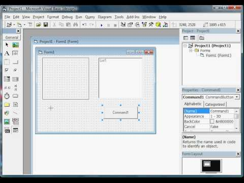 visual basic 6 0 graphics (the code is show on description)