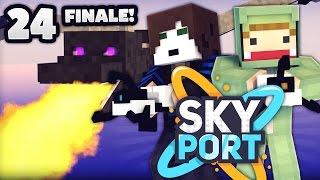 Das ENDE! - Minecraft SkyPort 2 #24 | ungespielt