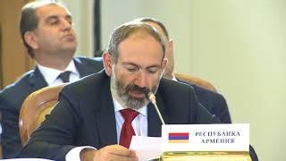 Пашинян подтвердил приверженность страны международным обязательствам, в том числе в рамках ЕАЭС
