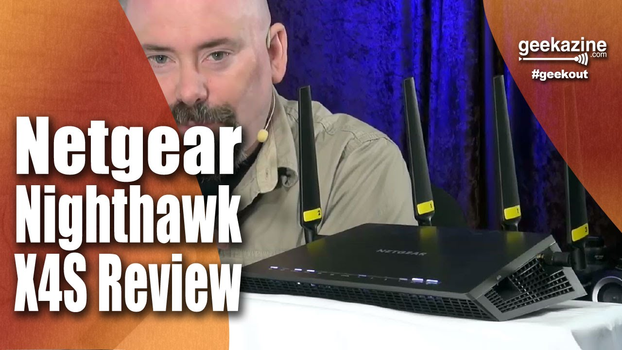 Netgear Nighthawk X4S Wireless Router Review