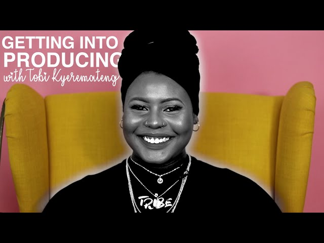Getting Into Producing with Tobi Kyeremateng | TRiBE's Toolbox