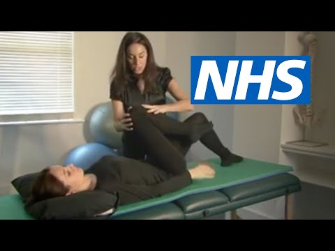 Exercises for sciatica: spinal stenosis | NHS