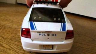 1/18 NY/NJ New York New Jersey Port Authority Police Custom Dodge Charger W/ Lights
