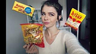 Trying Swedish Sweets/Snacks | ChloeLock