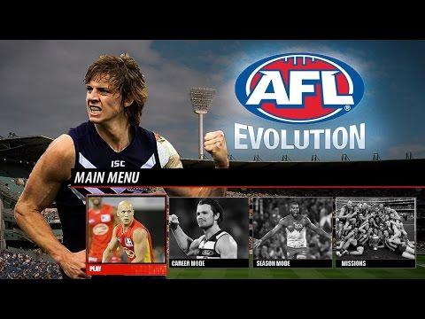 AFL Evolution - Main Menu & Modes Gameplay Notion