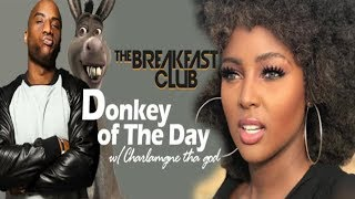 Charlamagne Gets Donkey of the day for dismissive attitude towards colorism