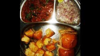 Pav Bhaji Recipe | Mumbai Street Style Recipe