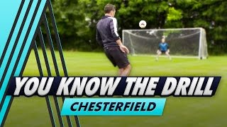 Two-Footed Shooting Challenge   You Know The Drill - Chesterfield with Dean Saunders
