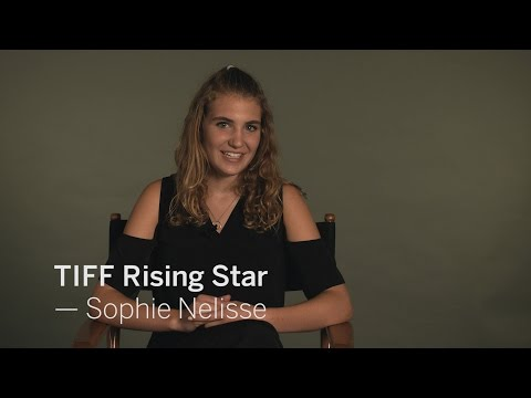with SOPHIE NÉLISSE  TIFF RISING STAR 2016
