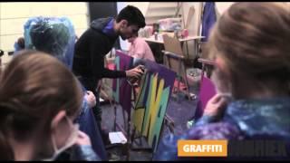 graffiti-fabriek - graffiti workshop verjaardagsfeestje Breda