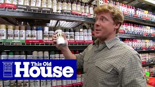 How to Choose and Use Spray Paint - This Old House