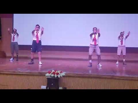 MybComedy dance at NSG DELHI(1)