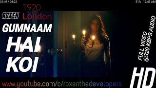 Gumnaam Hai Koi Hd 1080p || Full length Video Song || With 320kbps Thnuder Sound Quality || Roxen