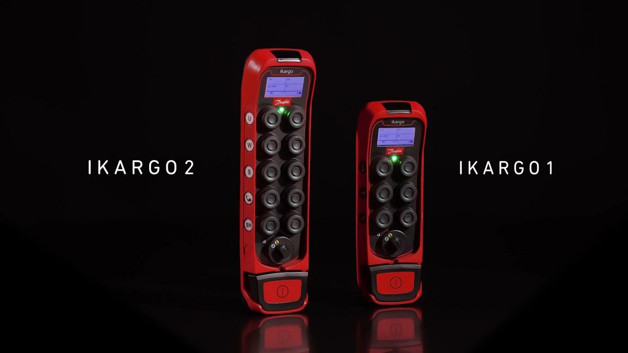 Ikore & Ikargo – The new range of industrial remote controls
