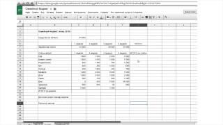 Введение в электронные таблицы (MS Excel). На примере семейного бюджета